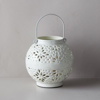 Flower Burst Enamel Votive