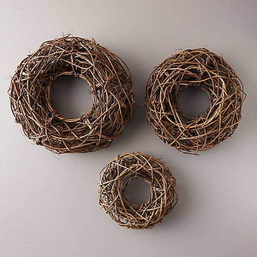 View larger image of Orchid Wood Vine Wreath