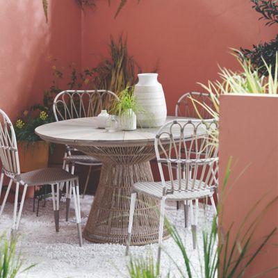 Jardin Teak Round Dining Table