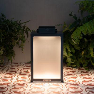 Solar LED Aluminum Lantern