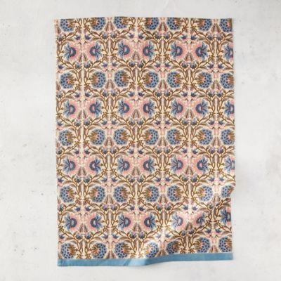 Geo Vine Cotton Dish Towel