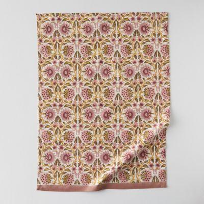 Geo Vine Cotton Tea Towel