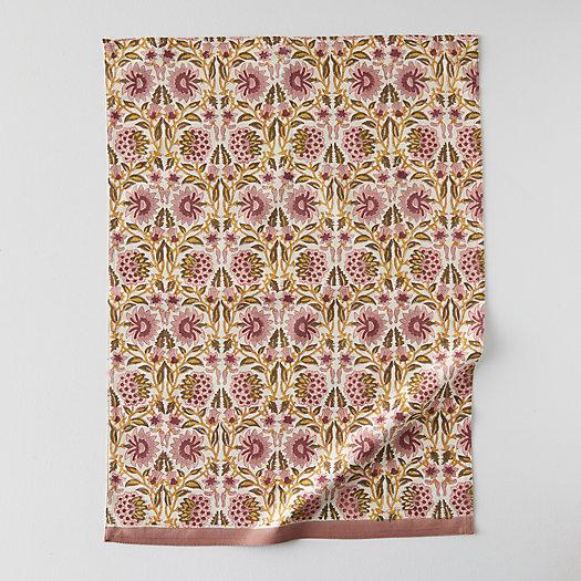 View larger image of Geo Vine Cotton Tea Towel