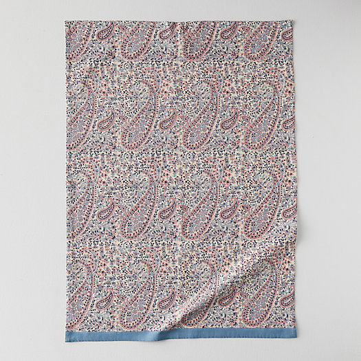 View larger image of Topaz Paisley Cotton Tea Towel