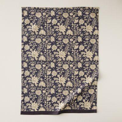 Neutral Florals Tea Towel