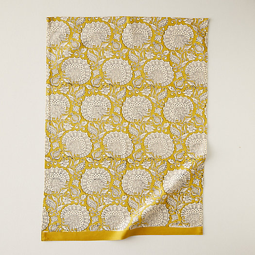 View larger image of Citrine Florals Dish Towel