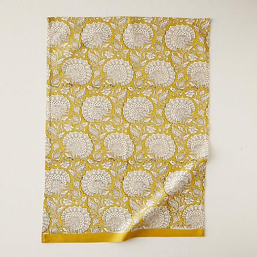 View larger image of Citrine Florals Tea Towel