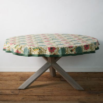 Vintage Florals Round Tablecloth