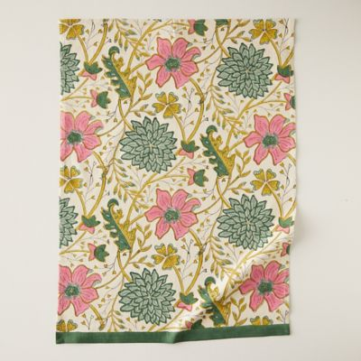 Vintage Florals Tea Towel
