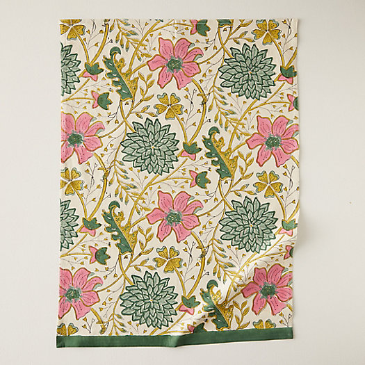 View larger image of Vintage Florals Tea Towel