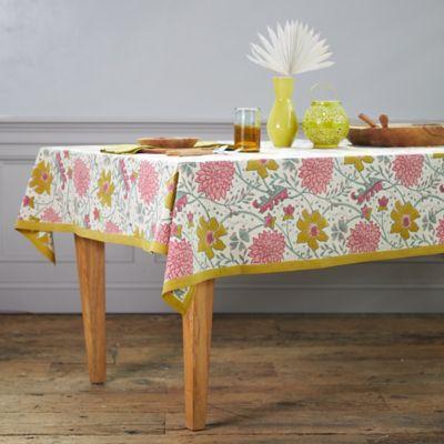 Floral Sangria Tablecloth
