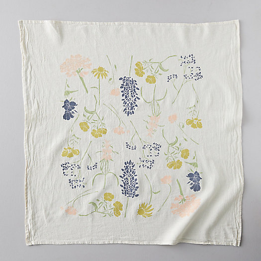View larger image of  Southern Regional Wild Flower Tea Towel