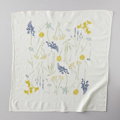 Northern Regional Wild Flower Tea Towel