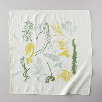 Pacific Ocean Seaweed Tea Towel