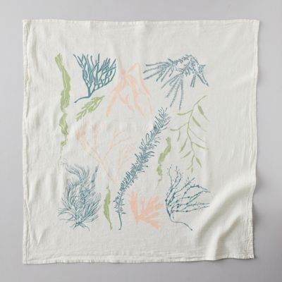 Atlantic Ocean Seaweed Tea Towel