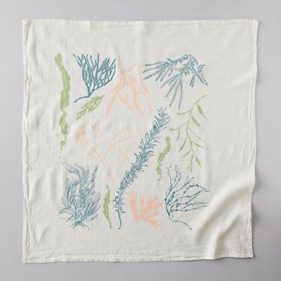 Atlantic Ocean Seaweed Dish Towel