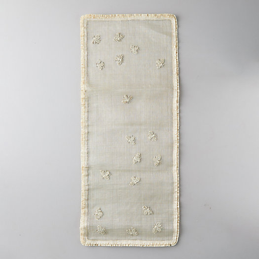 View larger image of Straw Bee Table Runner