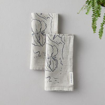 Iris Linen Napkin Set