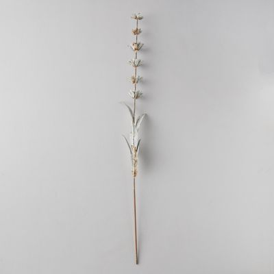 Iron Stacked Flower Stem