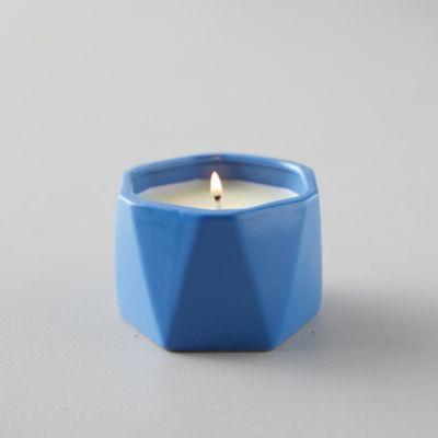 Geo Ceramic Candle, Citrus Crush
