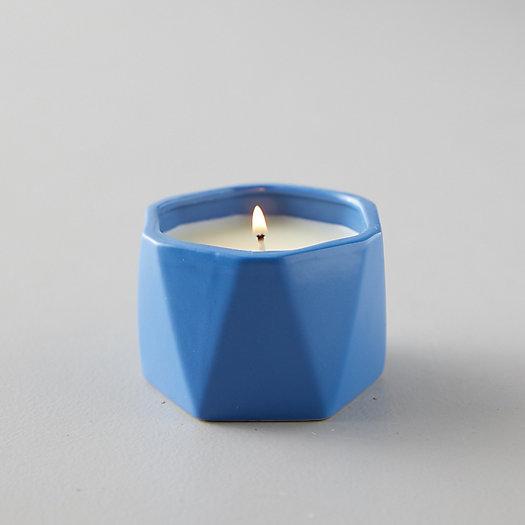 View larger image of Geo Ceramic Candle, Citrus Crush