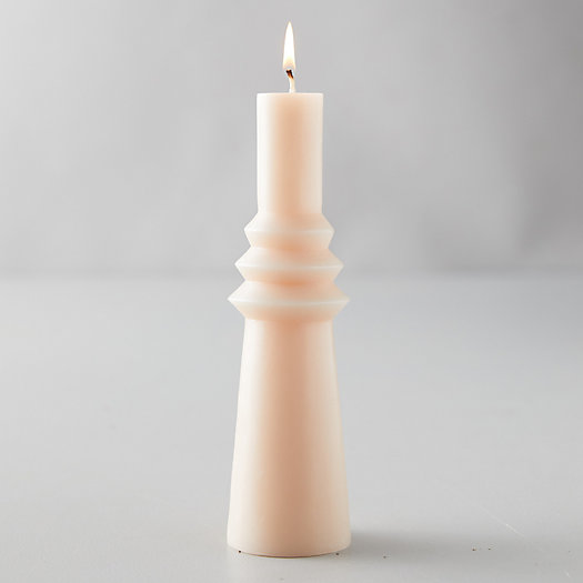 View larger image of Geo Pillar Candle, Large