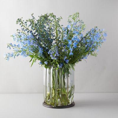 Fresh Blue Delphinium Bouquet