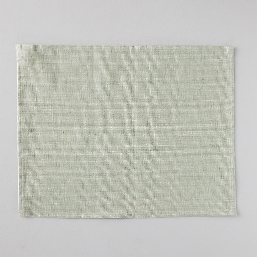 View larger image of Water-Resistant Linen Placemat