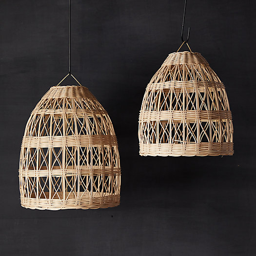 View larger image of Woven Rattan Pendant