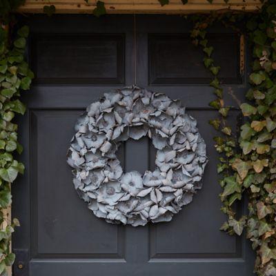 Dried Palm Pod Wreath