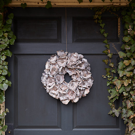 View larger image of Dried Palm Pod Wreath