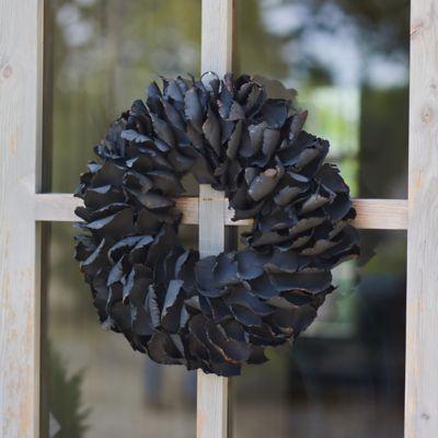 Dried Palm Petal Wreath