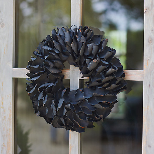 View larger image of Dried Palm Petal Wreath
