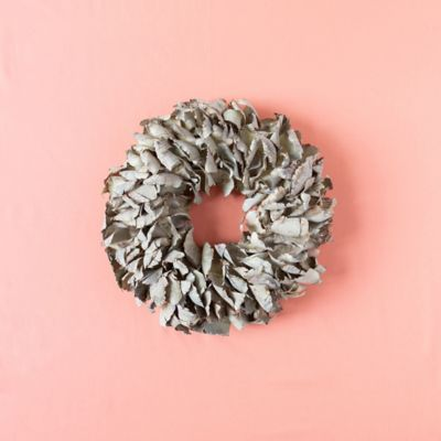 Dried Palm Petal Wreath