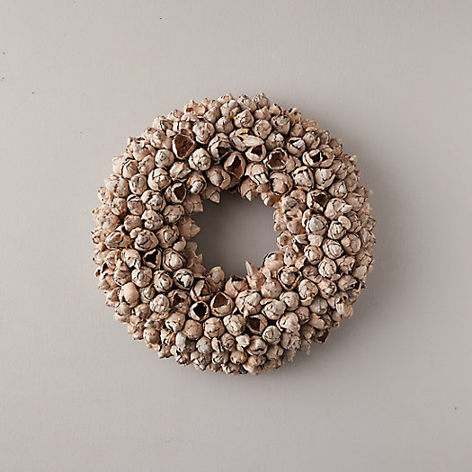 View larger image of Dried Coco Fruit Pods Wreath
