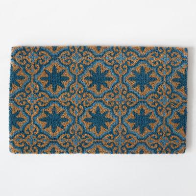 Mosaic Florals Doormat
