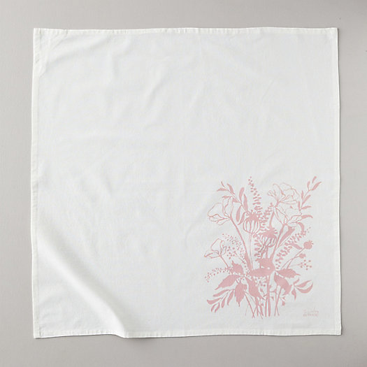 View larger image of Turkish Tea Towel, Poppies
