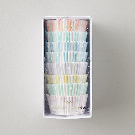 View larger image of Pastel Stripe Cupcake Holders, Set of 100