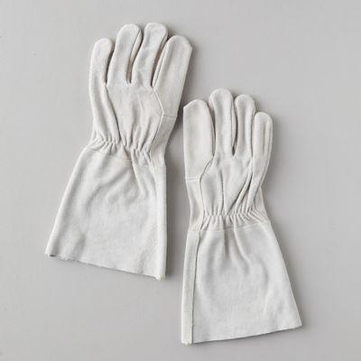Suede Gauntlet Garden Gloves