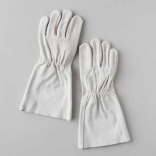 View larger image of Suede Gauntlet Garden Gloves
