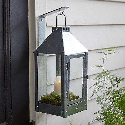 View larger image of Galvanized Steel Outdoor Lantern