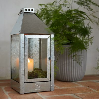 Galvanized Steel Outdoor Sconce