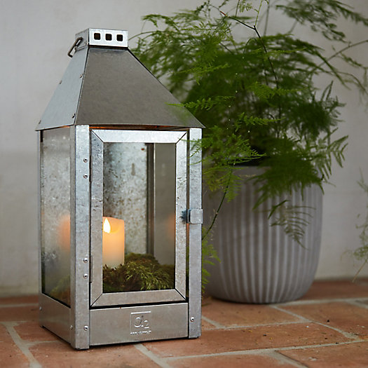 View larger image of Galvanized Steel Outdoor Sconce