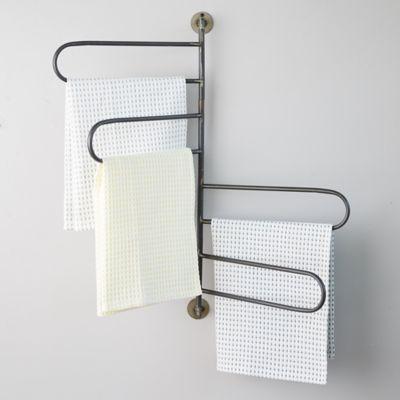 Iron Swivel Wall Rack