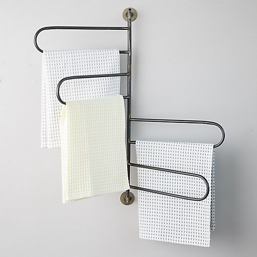 View larger image of Iron Swivel Wall Rack