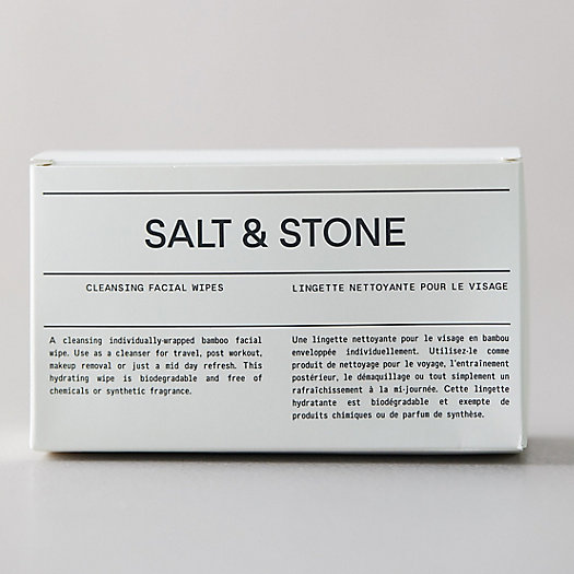 View larger image of Salt & Stone Cleansing Facial Wipes, Set of 12