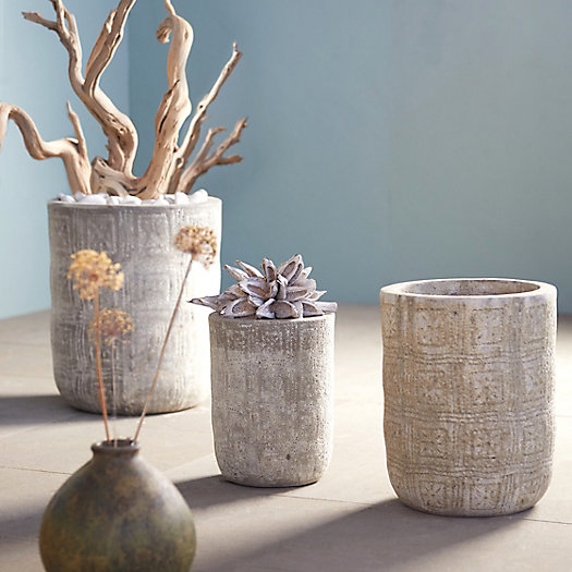 View larger image of Barnacle Etched Pot