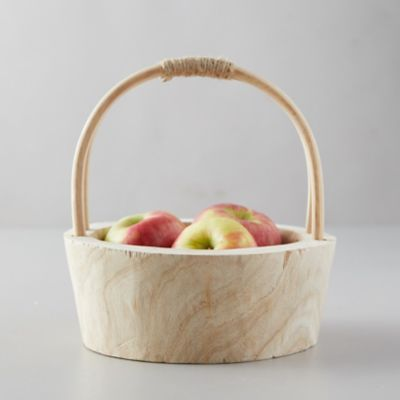 Natural Wood Basket