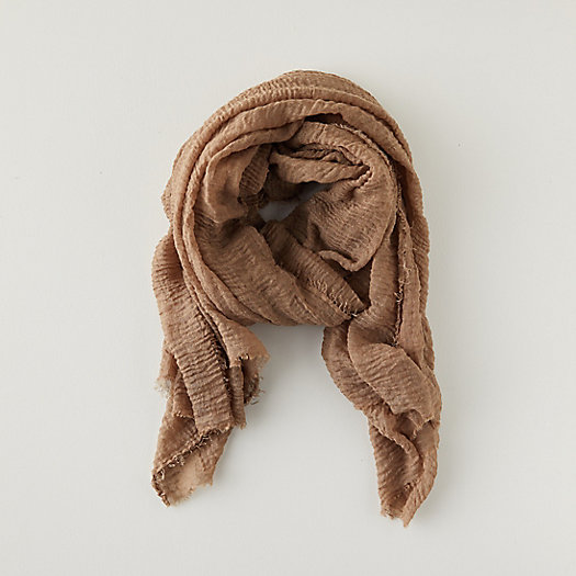 View larger image of Woven Frayed Edge Scarf