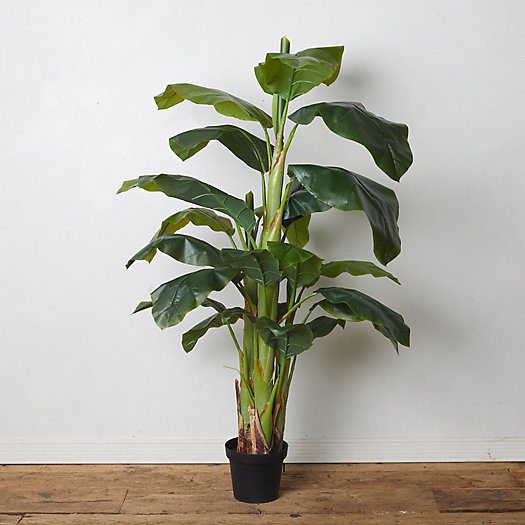 View larger image of Faux Banana Leaf Tree